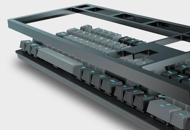 达尔优A840机械键盘 外观百变更个性