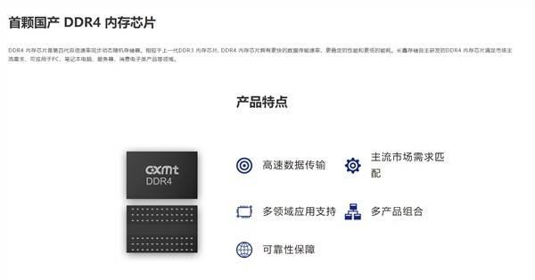 国产内存来了!长鑫官方开卖DDR4/LPDDR4X内存