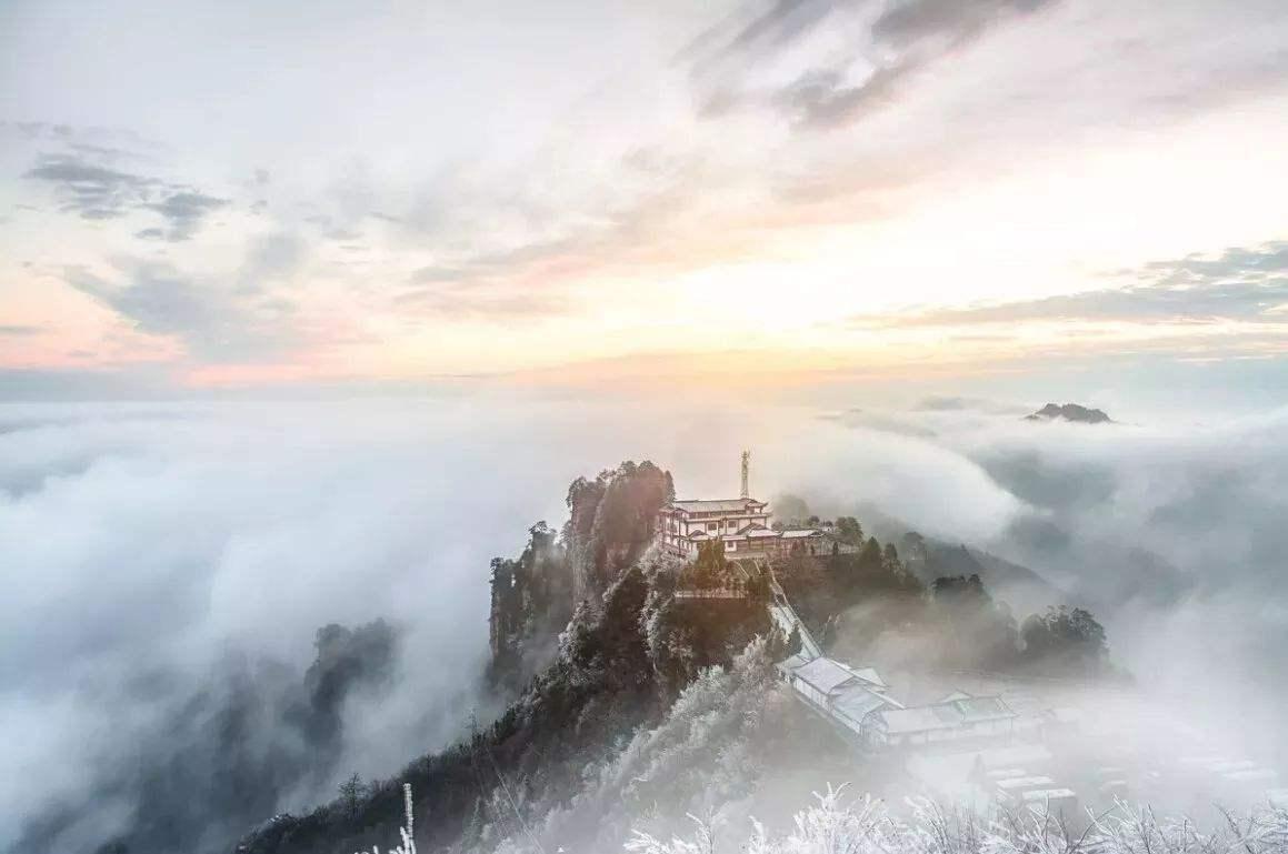 12月份张家界适合旅游吗?感受冬天张家界的另类严寒