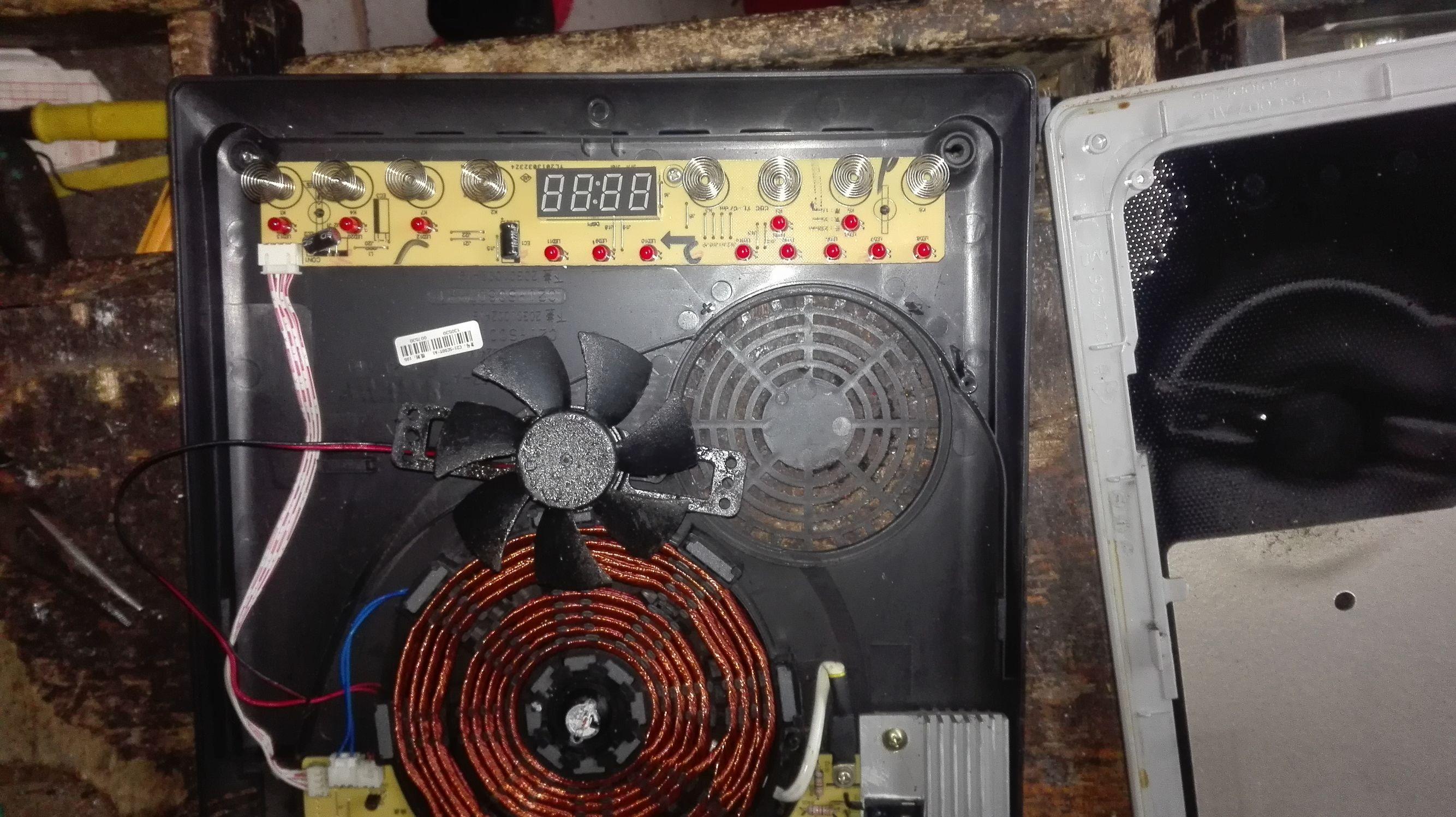 电磁炉自动停怎么处理?以下方法简单处理